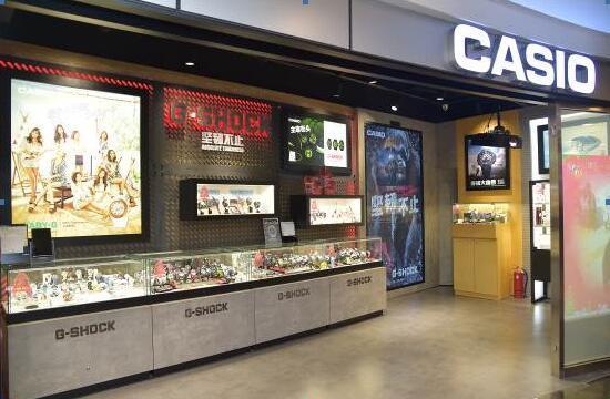 卡西欧开了首家智慧型门店 把天猫专卖店搬到