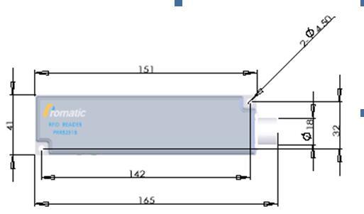 PRR8251工业传感器尺寸